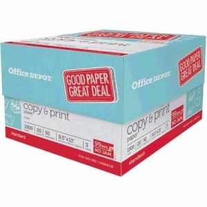 Office Depot/Office Max Copy Paper 3-Ream Case $2 with Rewards! ~Ends 10/10!