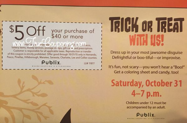 Publix Coupon 10-25-15