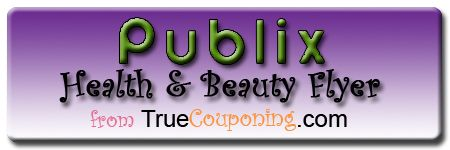 Publix Purple (Health & Beauty) Advantage Flyer 11/21 – 12/4