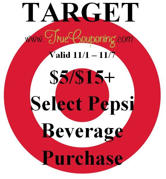 {REMINDER} Saturday is the Last Day to use the Target $5/$25 Storage/Organization & $5/$15 Pepsi Products!