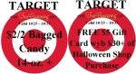 Target Special Coupons 10-25