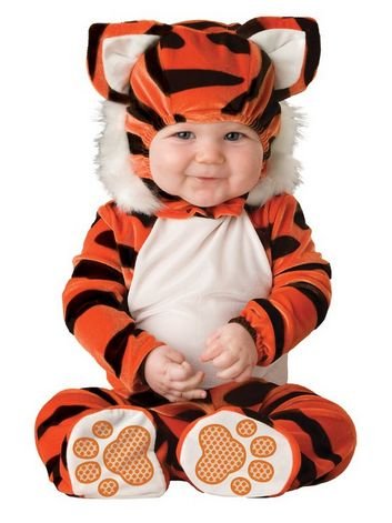 Baby Tiger Halloween Costume 6-12m just $15.99, Ships FREE