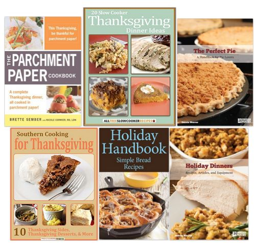 6 FREE eBooks:  Thanksgiving Recipe Ideas