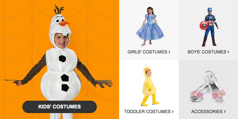 Select Halloween Costumes BOGO FREE at Target! Ends 10/10