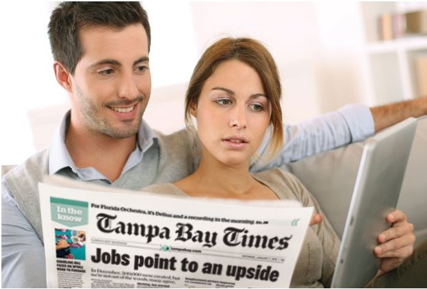 AMAZING SAVINGS! Tampa Bay Times Newspaper Deal 1 Year Sunday Subscription for Only $37 {$130 Value}!