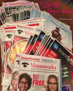 Win 130 Coupon Inserts from the last 6 Weeks! {Or Buy Them for Yourself}