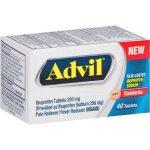 Advil 200 mg Film Coated Tablets 40 ct