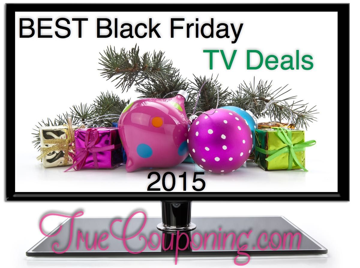 Best Black Friday TV Deals 2015