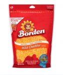 Borden Shredded Cheddar Cheese 8 oz