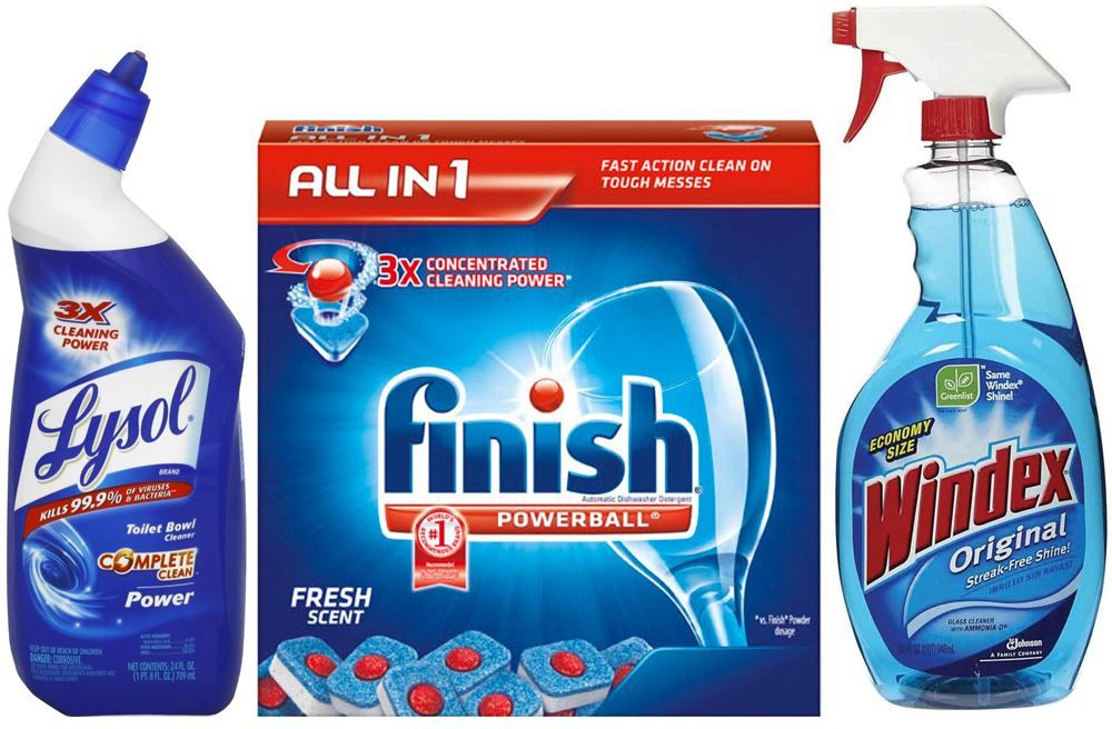 Discount cleaning products coupon