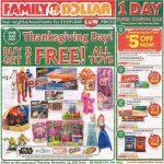 Family Dollar Black Friday Ad 2015