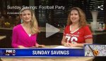 Fox 11-8-15 Football Parties