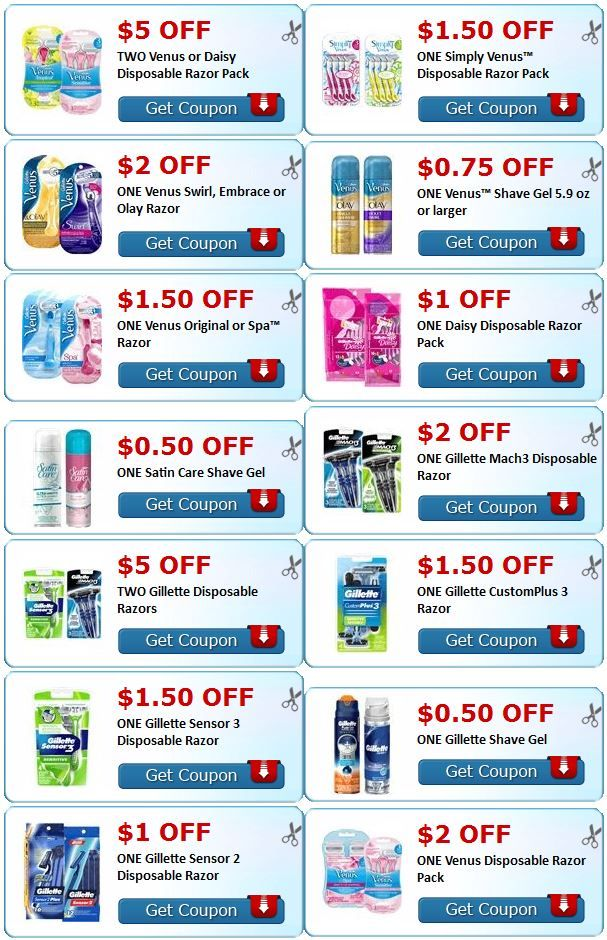 photo relating to Venus Printable Coupons titled Gillette venus breeze printable coupon codes : American lady