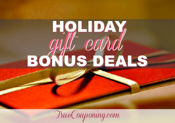 Stretch Your Gift-Giving Budget with Bonus Gift Card Deals!