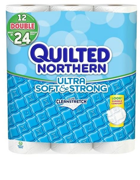 Quilted Northern Bath Tissue Double 12 pack