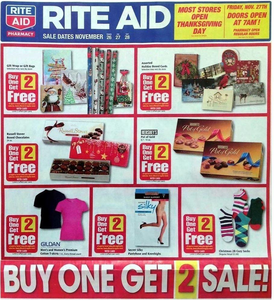 Rite Aid Black Friday Ad 2015