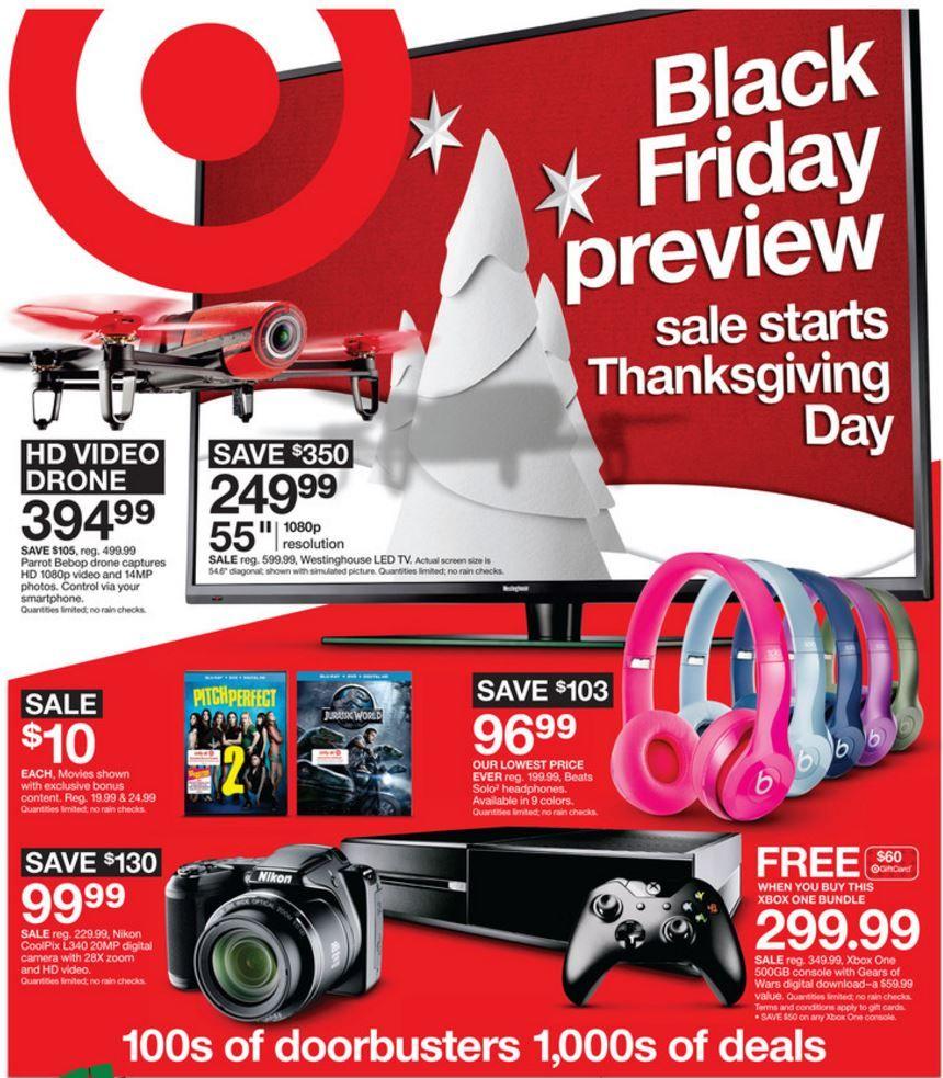 Target black friday coupons