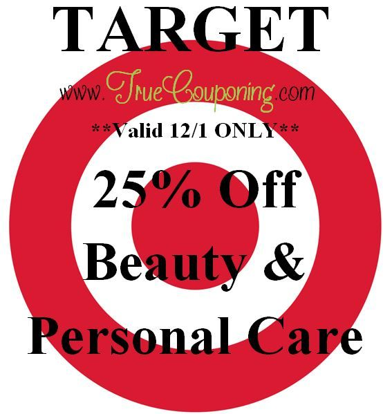 Special Coupons in 11/29 Sunday Newspaper: Target $10/$50+ or $25/$100+ Holiday, 25% Beauty/Personal Care or $5/3 Fruit of the Loom!
