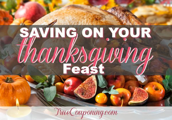5 EASY Ways To Help You Save on Your Thanksgiving Feast