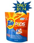 Kmart Double Coupons: Tide Pods Only $1.99 Each!