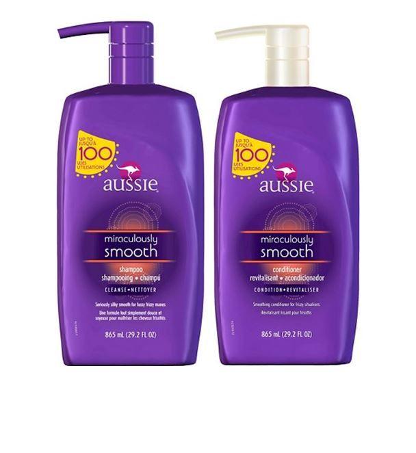 Aussie Hair Care Large Pump bottles