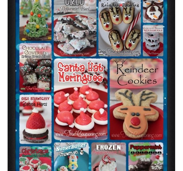 Christmas Cookies and Desserts Recipe Roundup