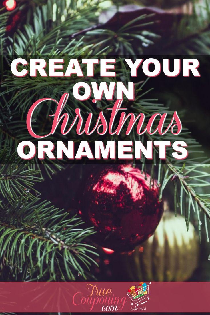 Create Your Own Christmas Ornaments | DIY Christmas Ornaments