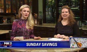 {Video Replay} Fox 13 Savings Segment ~ 5 Must-Buy Items for February!
