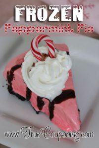 Frozen Peppermint Pie Recipe