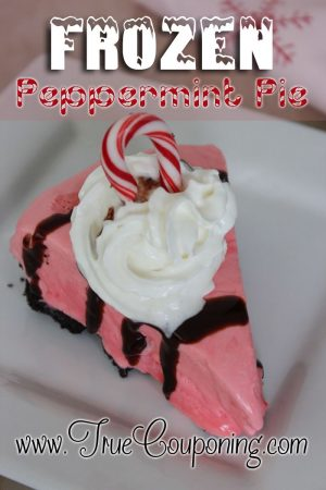 Frozen Peppermint Pie