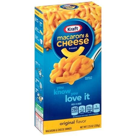 Kraft Original Flavor Macaroni & Cheese Dinner 7.25 oz