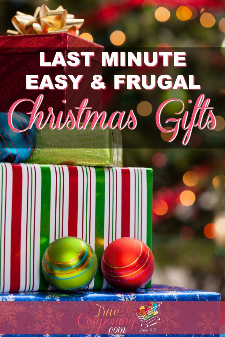 Tight on time this Christmas? Then I\'ve got some really cool Christmas gifts that can be made at the last minute, cost very little AND you\'ll love to give! Get started before time runs out! #truecouponing #Christmas #Christmasgifts #Christmasgift #Christmasgiftideas
