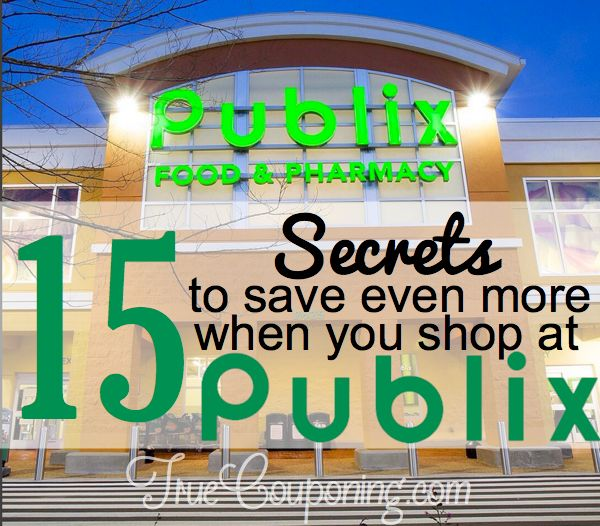 Did You Know There's Fifteen (15!) Ways To Save at Publix?!