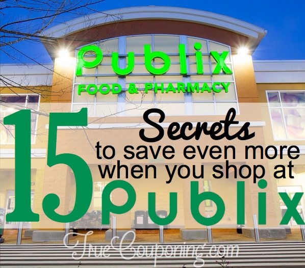 15 Tips to Save More When You Shop at Publix