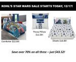 Save Lots of Galactic Credits on Your Star Wars Gifts at Kohl's after Discounts & Kohl's Cash! ~Ends 12/24