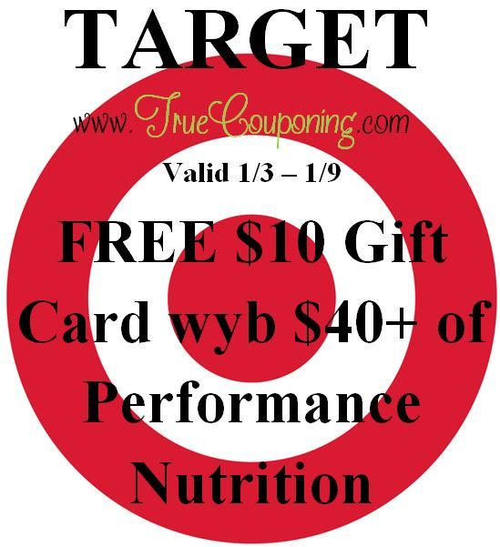 {REMINDER} Saturday is the LAST DAY to use the Target Bath/Bedding, Select Beverages & Performance Nutrition!