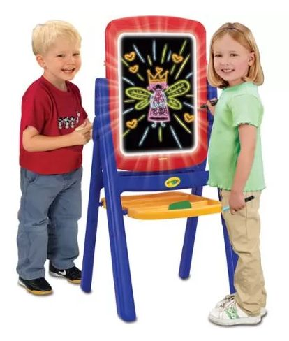 Crayola Glow Easel only $19.64! FREE Ship to Store! LOWEST PRICE ONLINE!