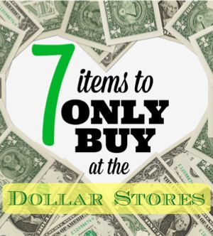 Dollar Stores ONLY Items Home Page 1