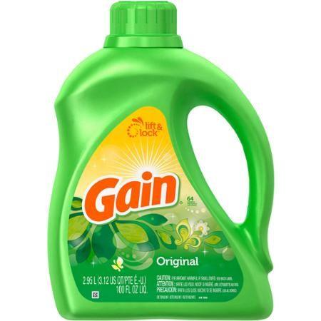 Gain With FreshLock Original Liquid Detergent 64 Loads 100 Fl Oz