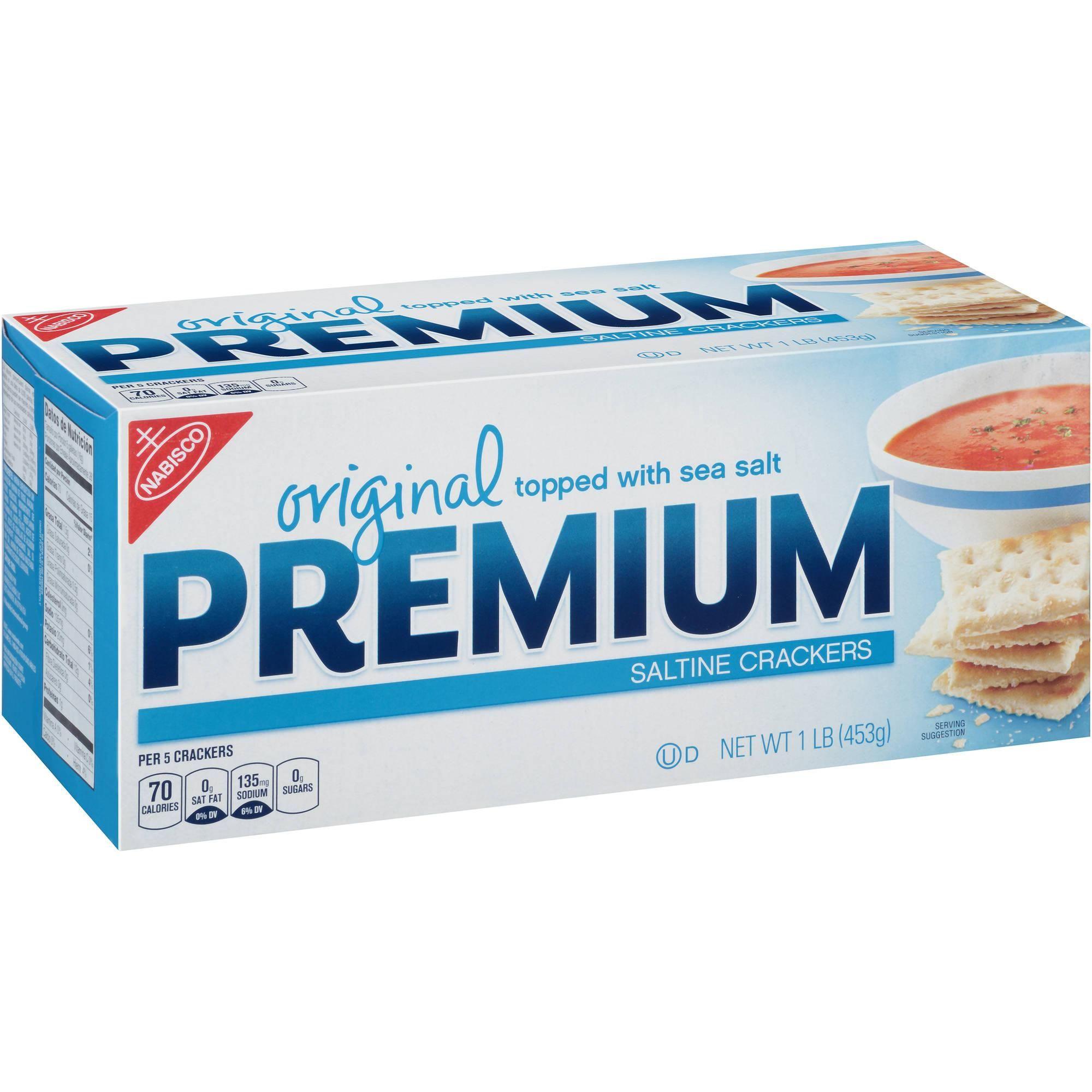 Nabisco Premium Saltine Crackers 16 oz