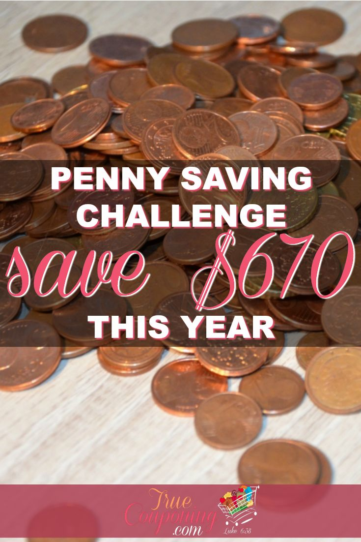 Penny Saving Challenge | Save $670 this year by just saving your pennies!