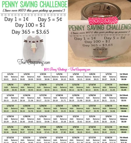 Penny Saving Challenge Download