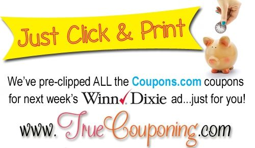 photograph relating to Winn Dixie Printable Coupons named Winn Dixie DealsTrue Couponing