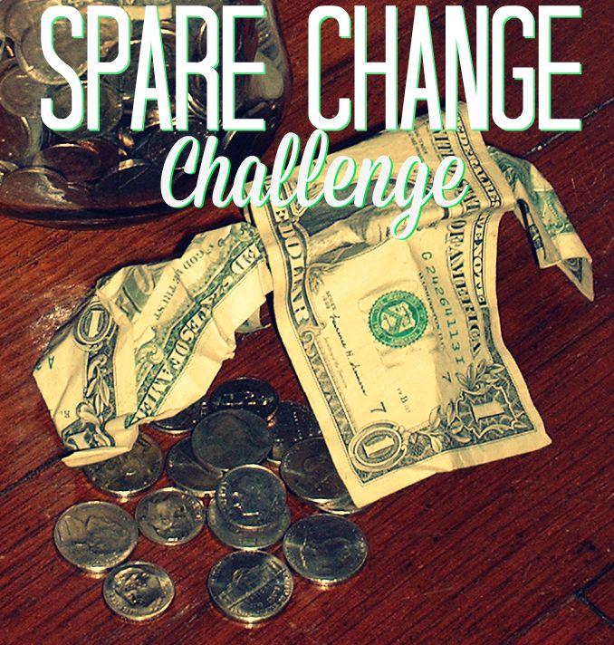 Saving-Money-Spare-Change-Challenge