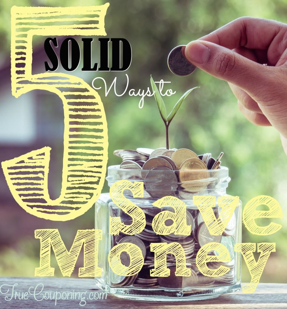 Solid Ways to Save Money