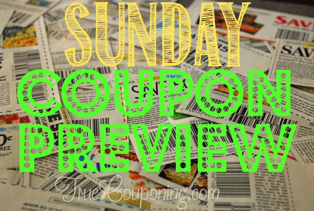 Sunday Coupon Preview Main