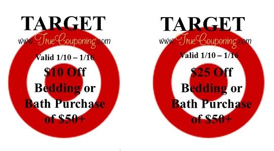 {REMINDER} Saturday is the Last Day to Use the Target Bath/Bedding & C9 Champion Coupons!