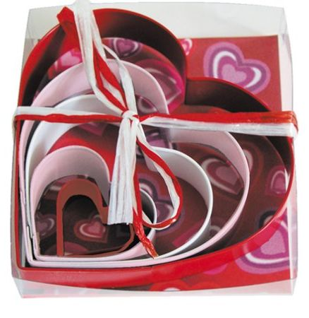 Heart Cookie Cutter Set $6.98! Ships FREE with Amazon Prime
