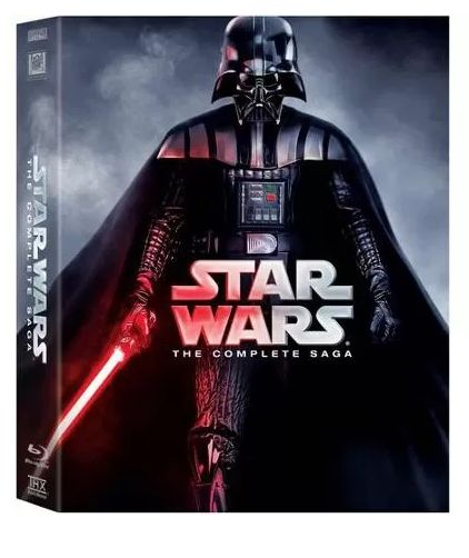 Star Wars: The Complete Saga on Blu-Ray only $89.96! {Reg $139.99} Shipping is FREE!