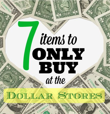 Dollar Stores ONLY Items Home Page